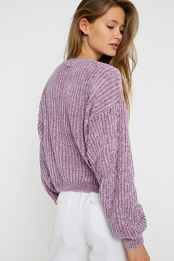 Slide View: 4: UO Plush Crew Neck Jumper
