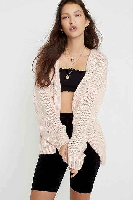 UO Chuck On Cardigan