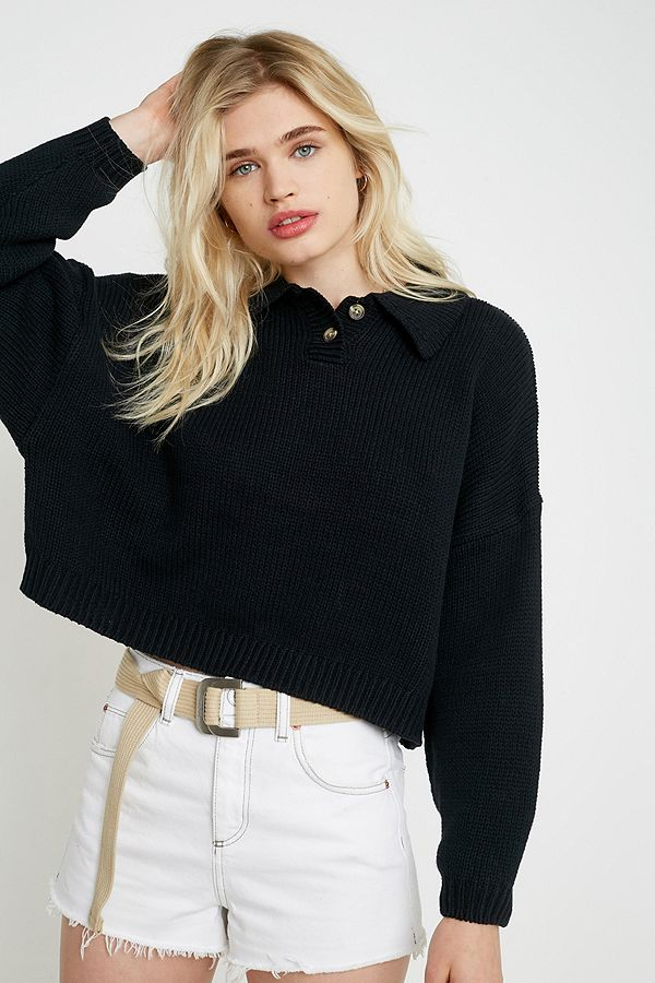 """urban-outfitters–-strickpullover-""""nico""""-mit-polokragen by urban-outfitters-shoppen"""