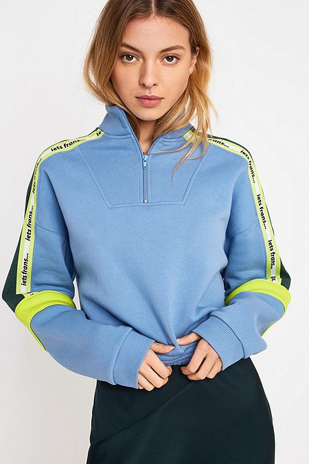 4269162ec4d59 Quarter-Zip Taped Track Top