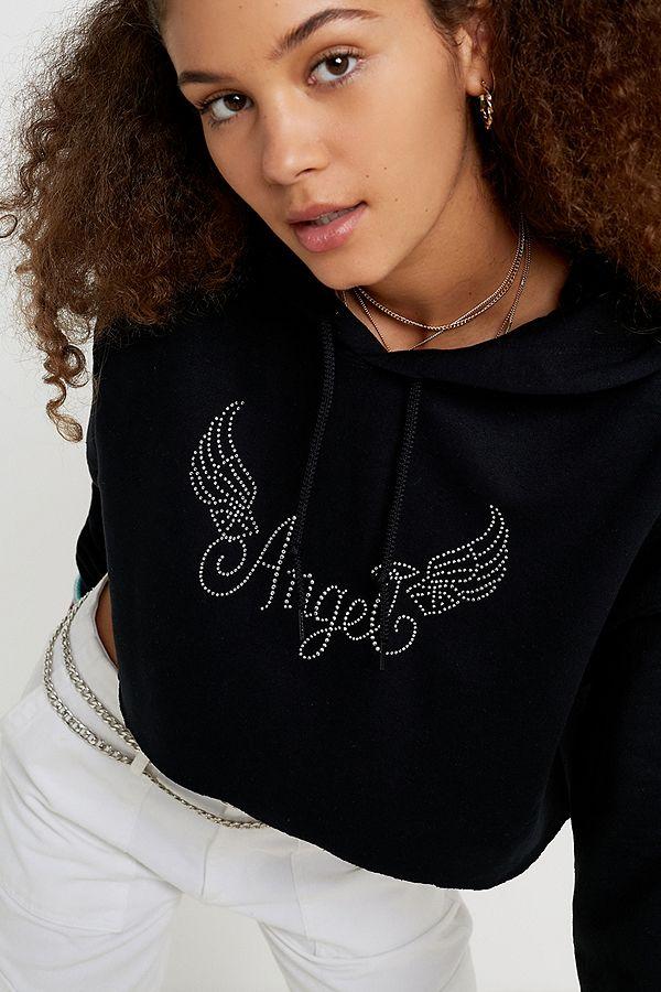 szczegóły specjalne wyprzedaże nowy haj UO Diamante Angel Skate Hoodie