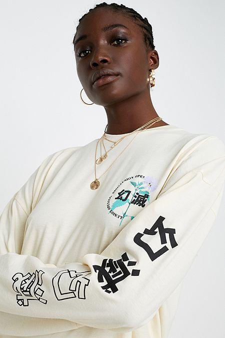 48b2bf87e7fb3 UO Disillusion Long-Sleeve Skate T-Shirt