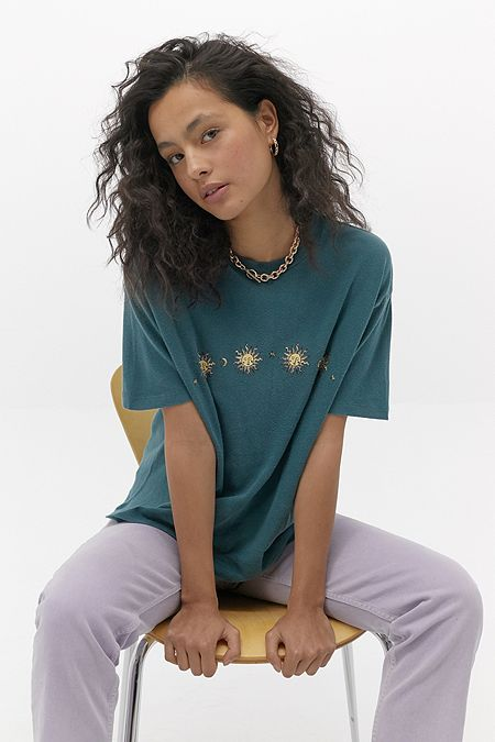 Womens Printed T Shirts Graphic Tees Urban Outfitters Uk