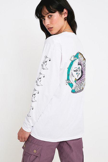0d6019f0b UO Mystic Moon Long-Sleeve Skate T-Shirt