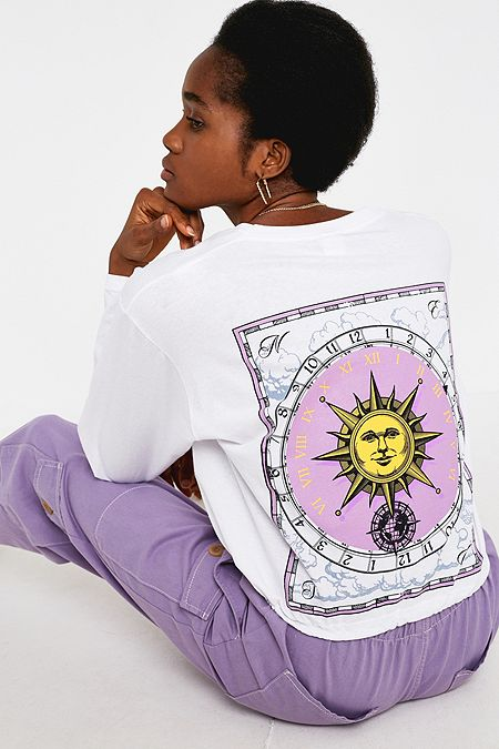 455e65469af UO Sun Compass Long-Sleeve Skate T-Shirt