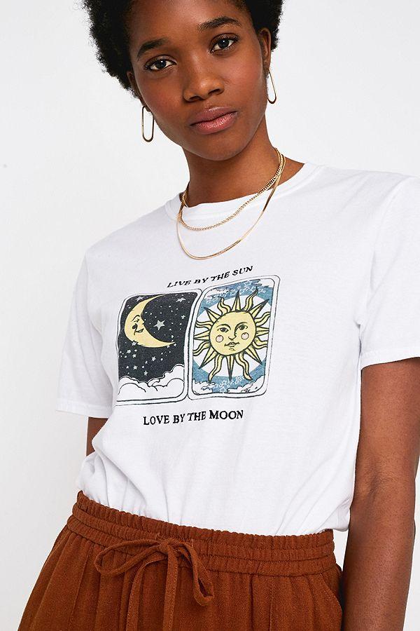f3874a3508a6e Uo Live By The Sun T Shirt by Urban Outfitters
