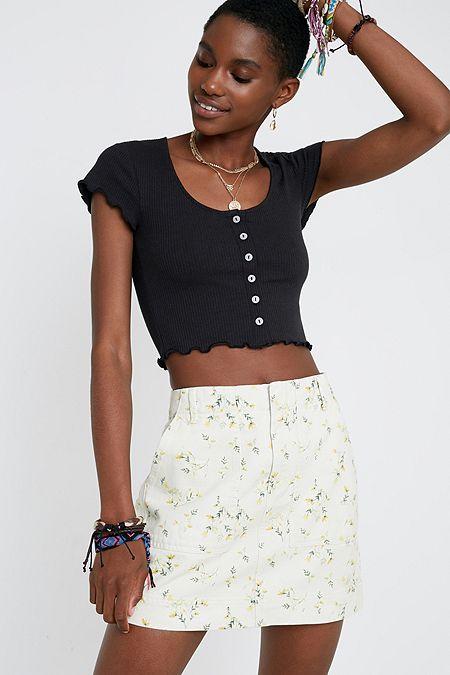 7ab29f7f0f2a Women's Skirts | Mini, Midi, Maxi, Denim & More | Urban Outfitters UK
