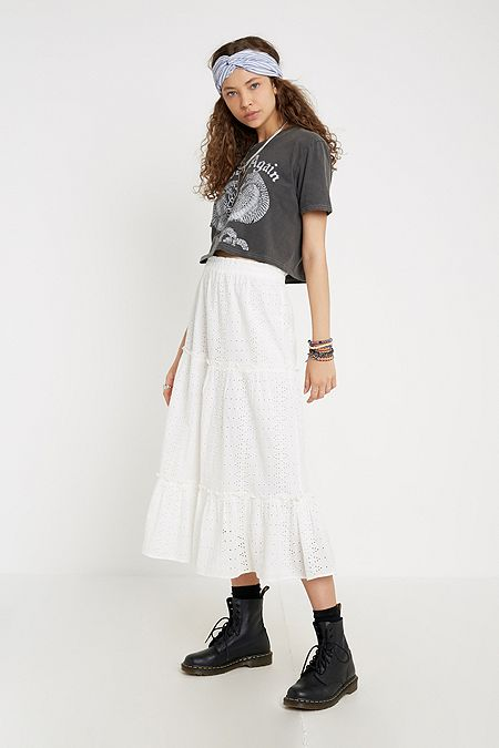 2d1e1cd2ab602 Women's Skirts | Mini, Midi, Maxi, Denim & More | Urban Outfitters UK
