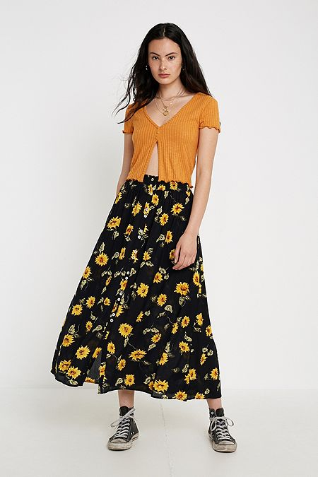 a7d3d7011 Women's Skirts | Mini, Midi, Maxi, Denim & More | Urban Outfitters UK