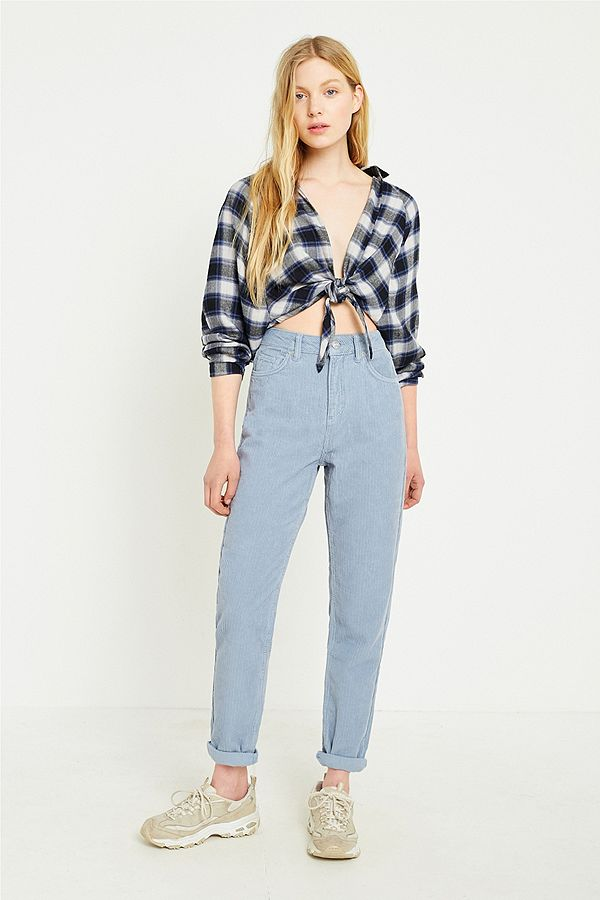 86ca5a2a98 Your Urban Outfitters Gallery. BDG Mom Blue Corduroy Jeans