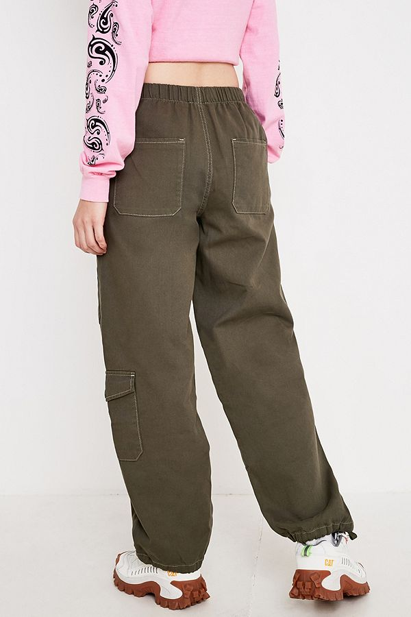 bon ajustement performance fiable meilleur BDG - Pantalon kaki doux style militaire