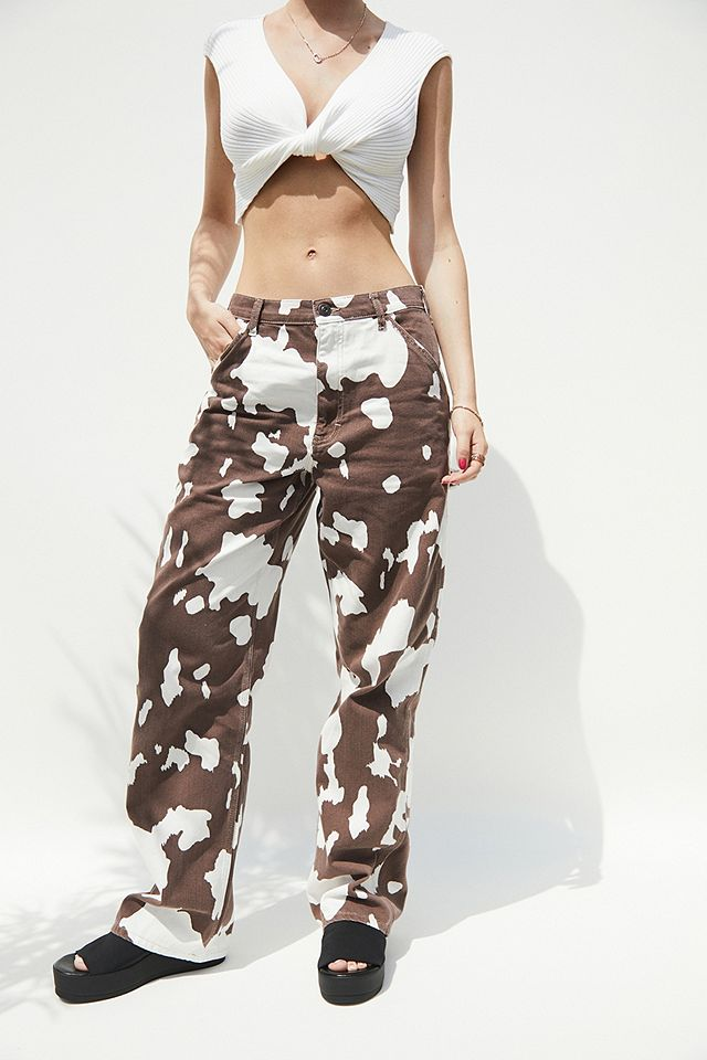 BDG Brown Cow Print Juno Jeans £60.00 Urban Outfitters