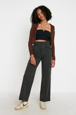 uo-ace-utility-high-rise-trousers by urban-outfitters