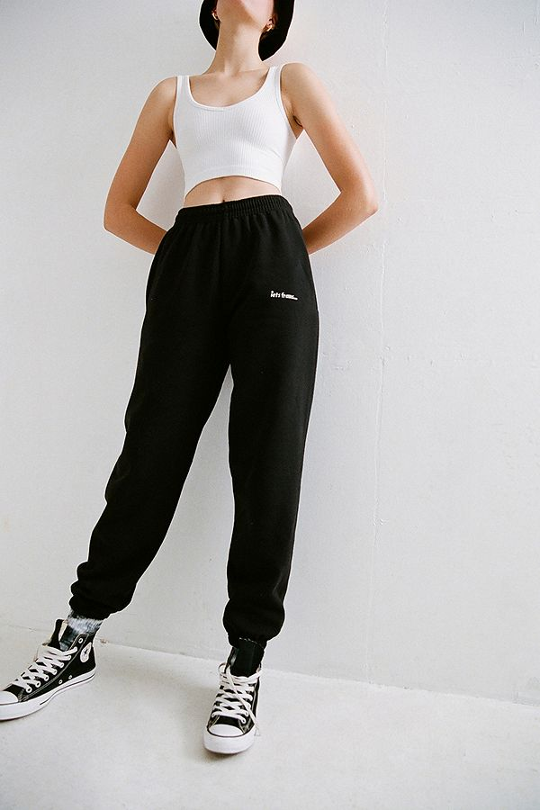 Iets Frans... Black Joggers by Iets Frans...