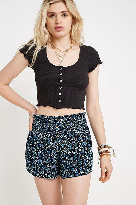 8e6f52c2da Women's Shorts   Denim, Plain, Floral & More   Urban Outfitters UK