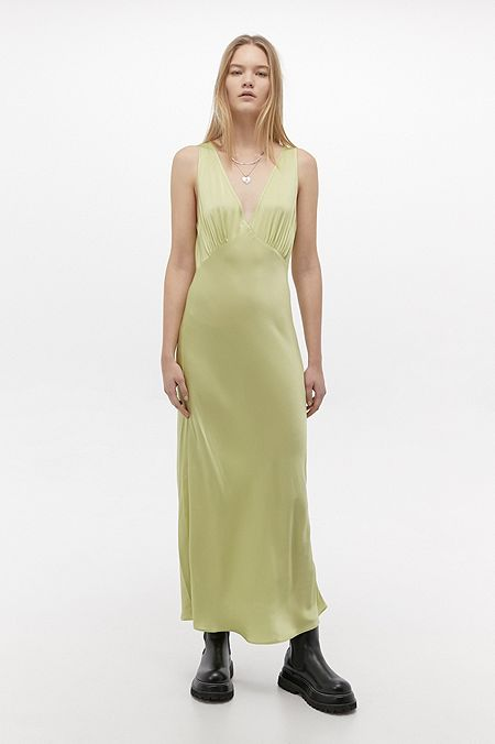 UO Kay Slip Midi Dress