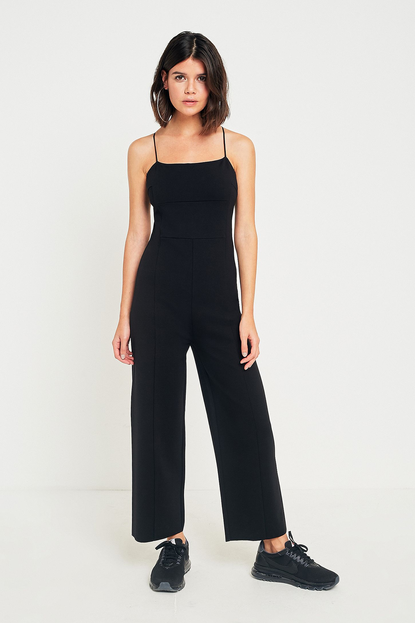 01070d33256 Pins   Needles Audrey Square Neck Jumpsuit. Click on image to zoom. Hover  to zoom. Double Tap to Zoom
