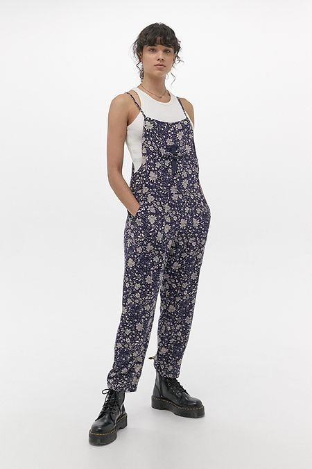 UO Misty Printed Jumpsuit