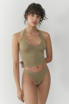 Out From Under Jackie Seamless Halter Neck Top by Out From Under