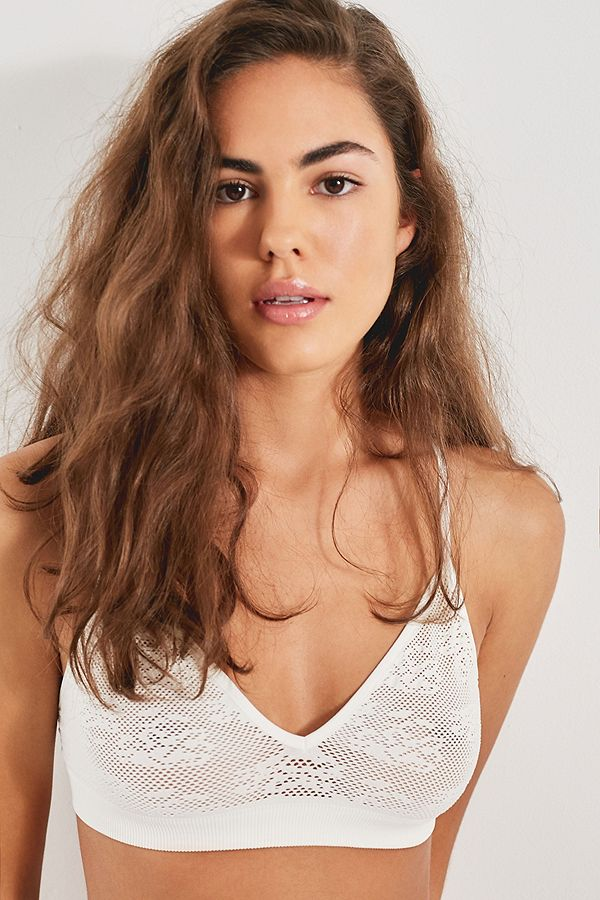 Out From Under Charlotte Mesh Triangle Bra by Urban Outfitters