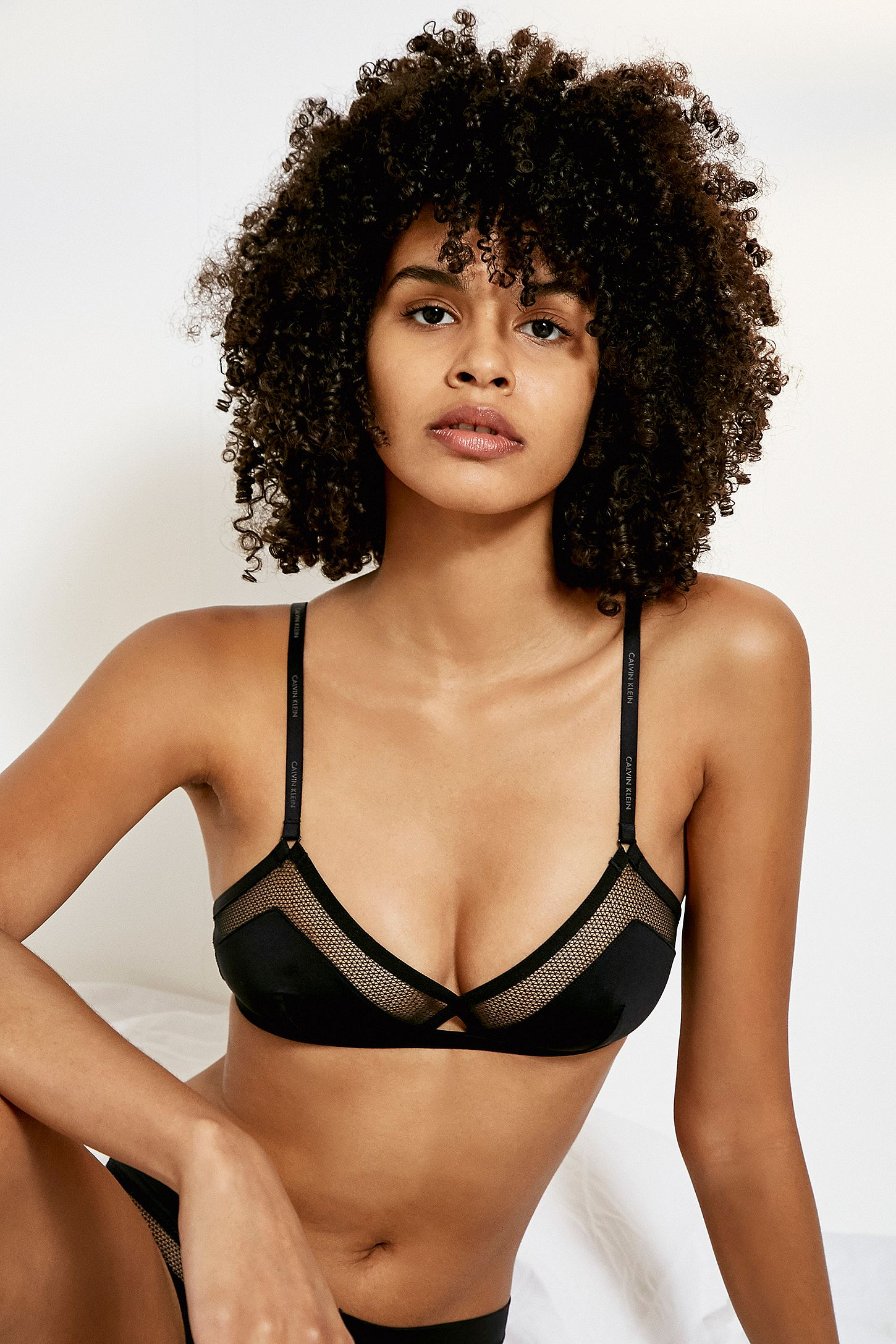 4a5ba90320 Calvin Klein Youthful Black Bralette