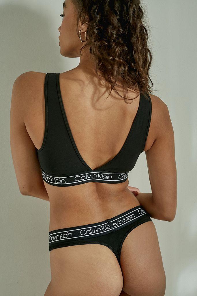 Calvin Klein Modern Flex Black Thong