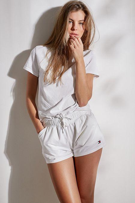 06478caf4d38c8 Tommy Hilfiger Core White Shorts