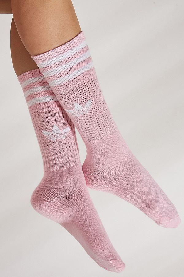 adidas Originals – 3er-Set Socken in Rosa