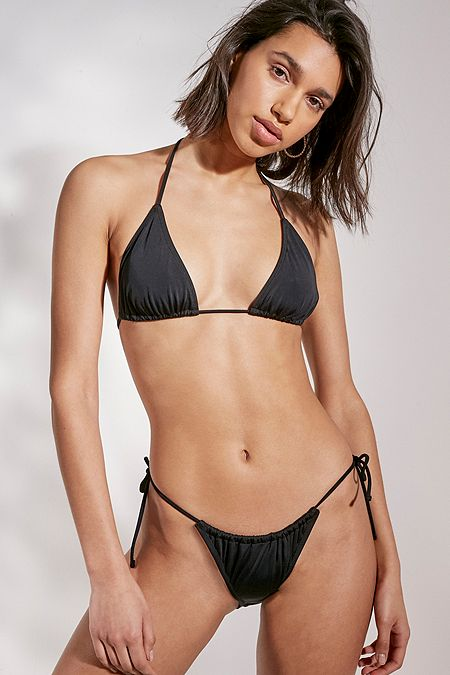 36f5cb46b Out From Under Easy Gathered Triangle Bikini Top