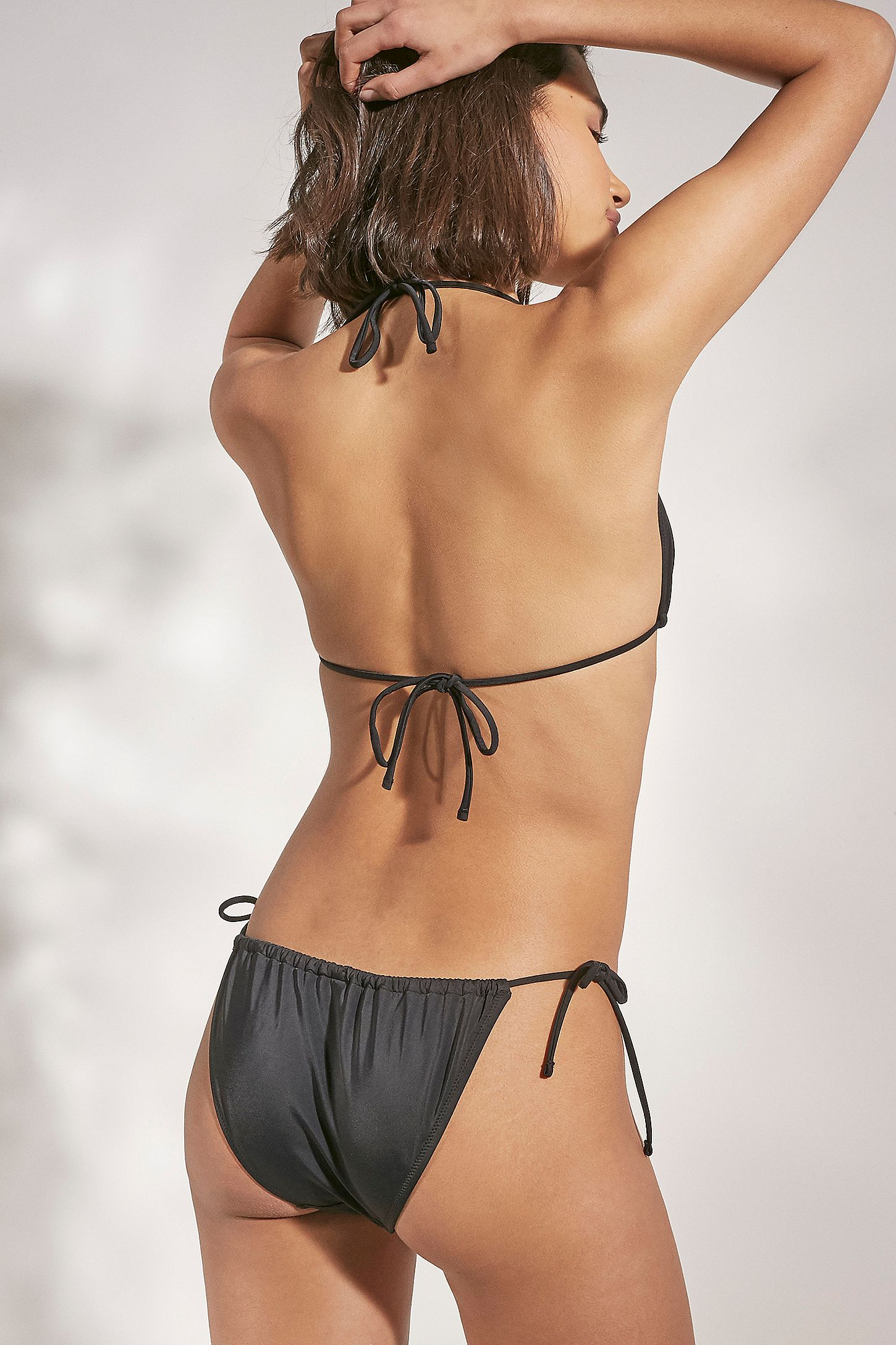 201ad8b79 Slide View  4  Out From Under Easy Gathered Triangle Bikini Top