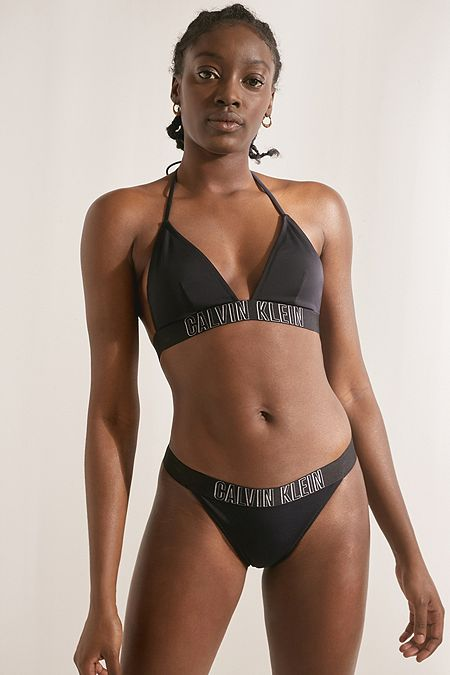 b3ab97058f Calvin Klein Intense Power Black Brazilian Bikini Bottoms