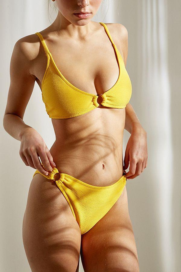 9e8cf8dfeb6 Slide View  1  MINKPINK Loren Ring Detail Bikini Bottoms