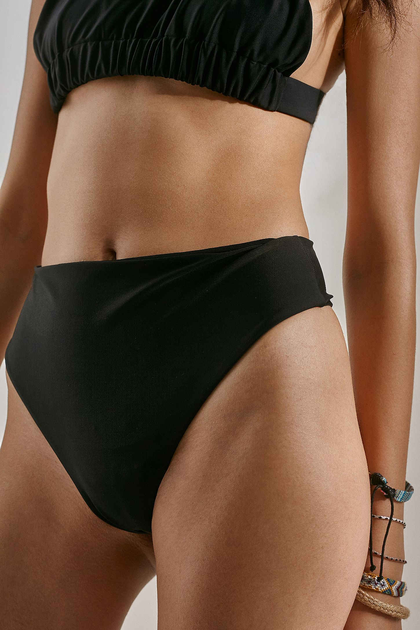 763d480182b We Are We Wear ECO Selin High-Rise Thong Bikini Bottoms | Urban ...