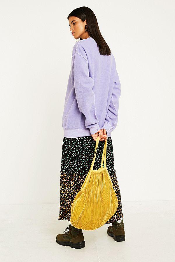 48266c5335 Plisse Pleated Shopper Tote Bag