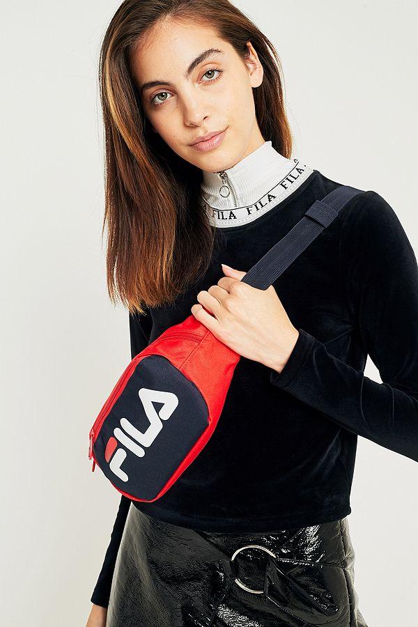 schattig goedkoop verschillende ontwerpen meerdere kleuren FILA Adams Red Bum Bag