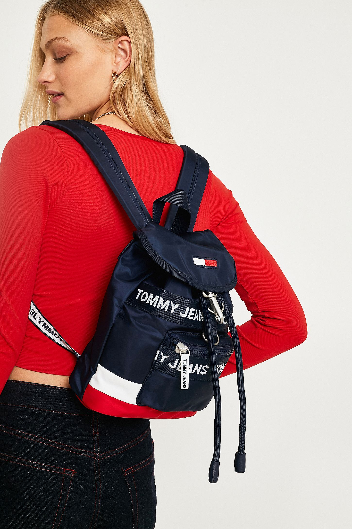 157bb0fe Tommy Jeans Heritage Mini Backpack. Click on image to zoom. Hover to zoom.  Double Tap to Zoom