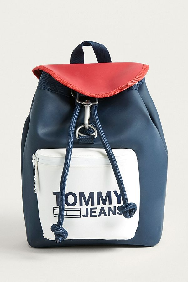 55aeb7d5906 Slide View  1  Tommy Jeans Mini Heritage Backpack