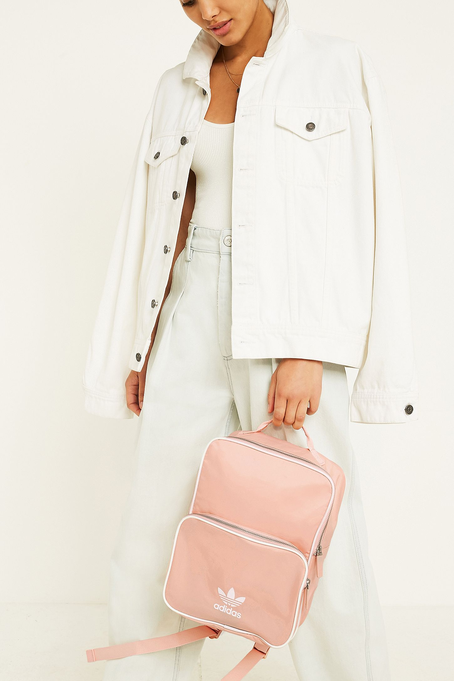 d5373dad744f adidas Originals Adicolor Pink Backpack