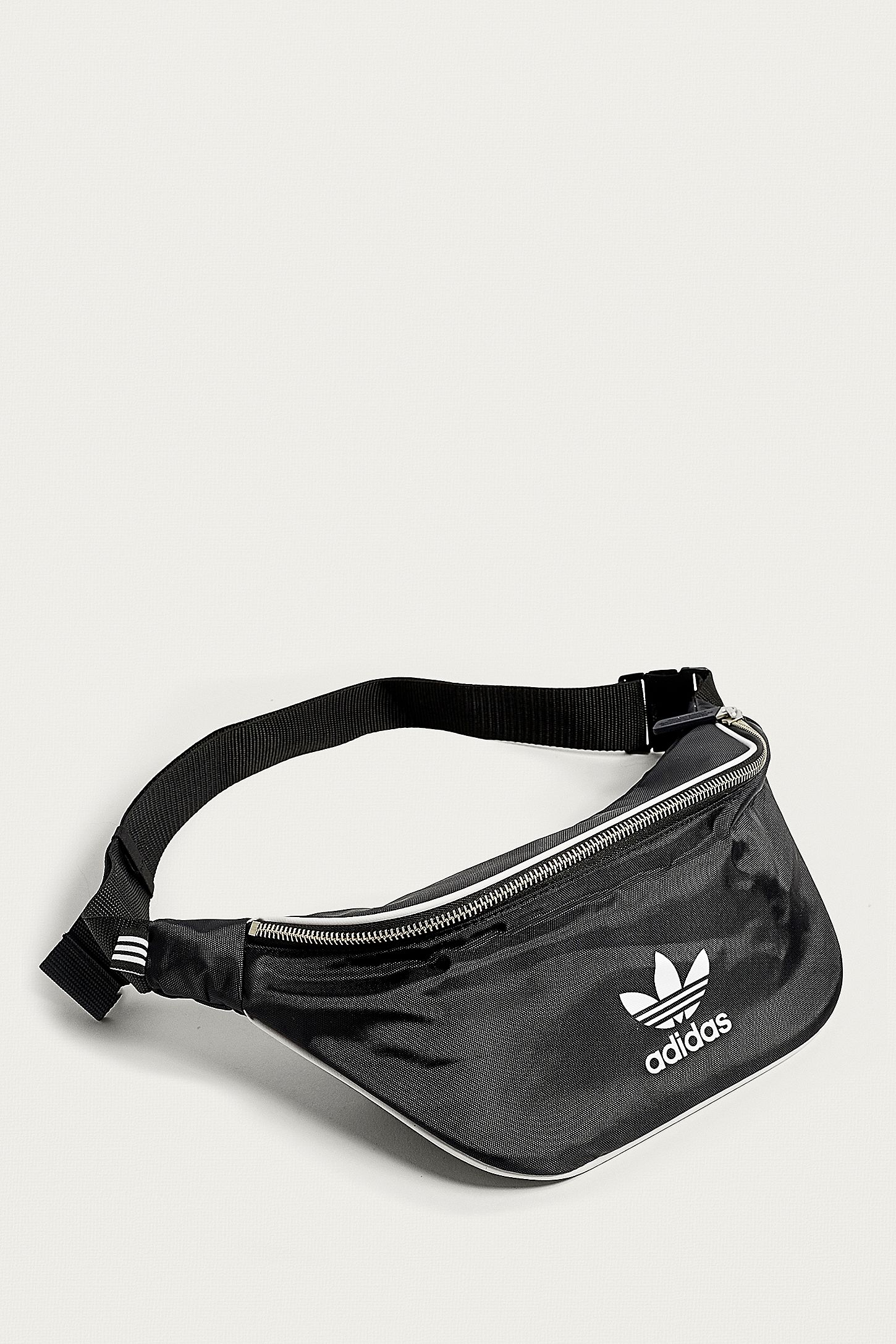 ee371982c1bb adidas Originals Black Logo Bum Bag. Click on image to zoom. Hover to zoom.  Double Tap to Zoom