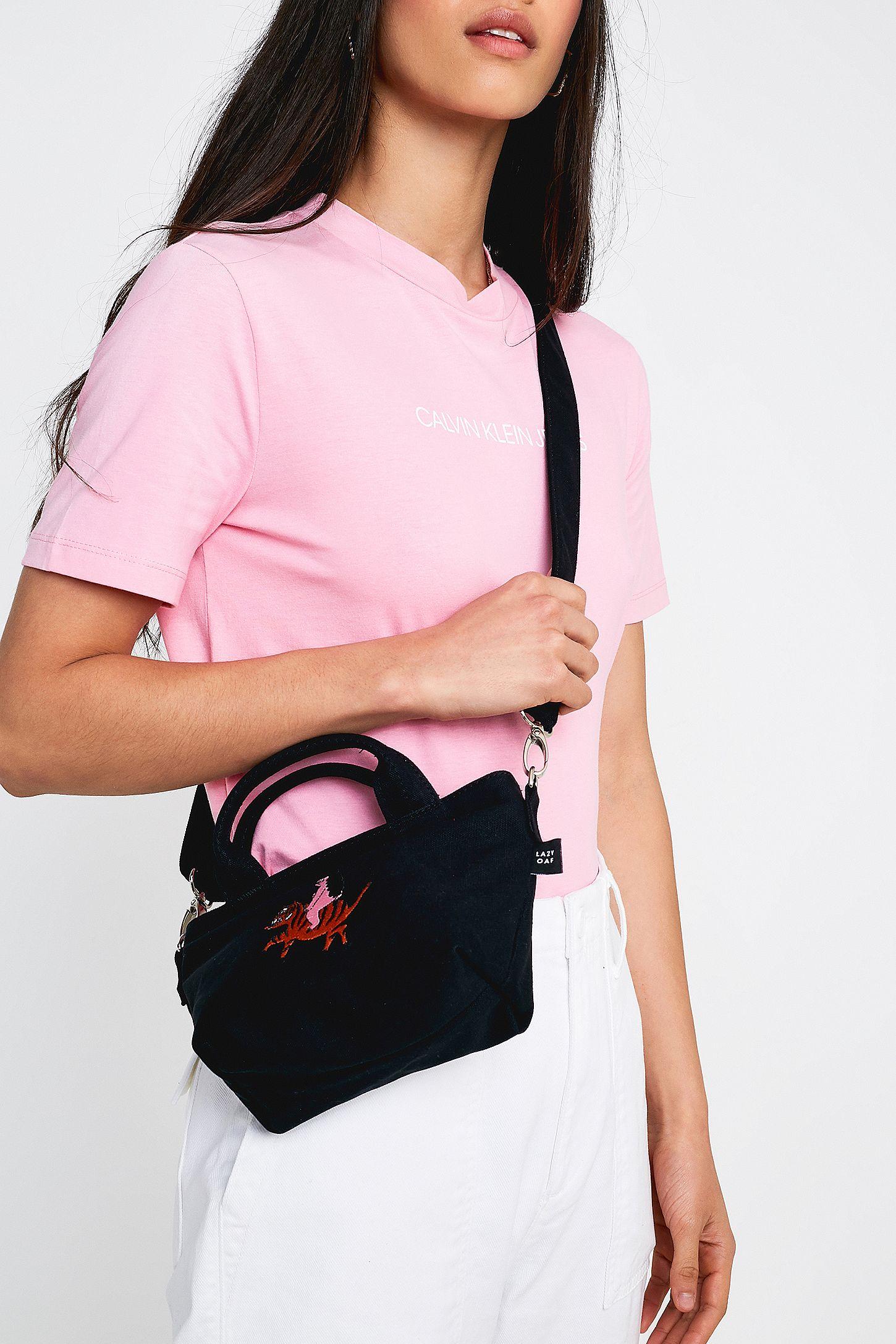 f04f7632c37 Lazy Oaf Tiger Lady Mini Tote Bag