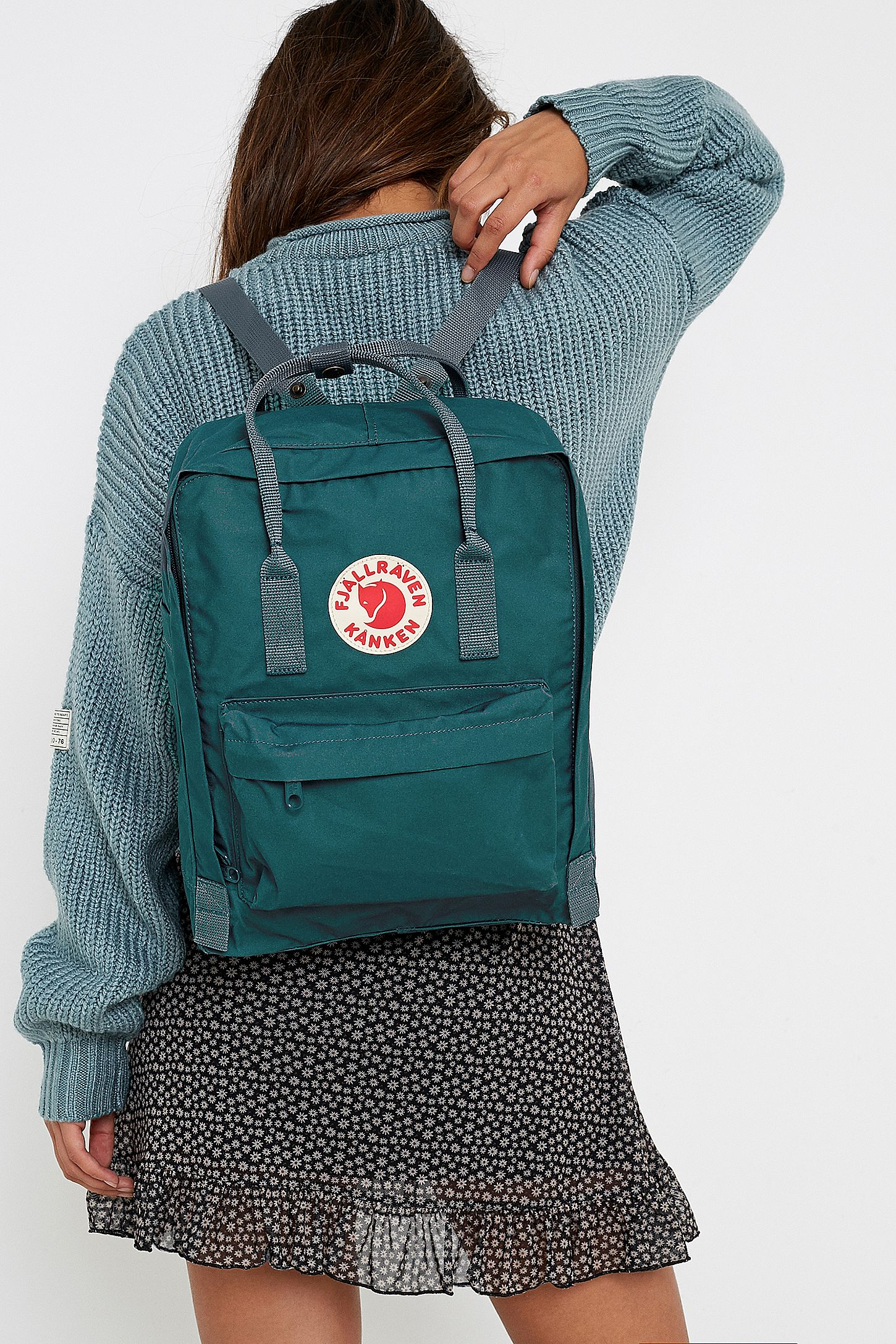 usa cheap sale classic sports shoes Fjallraven Kanken Classic Dusk Grey Backpack