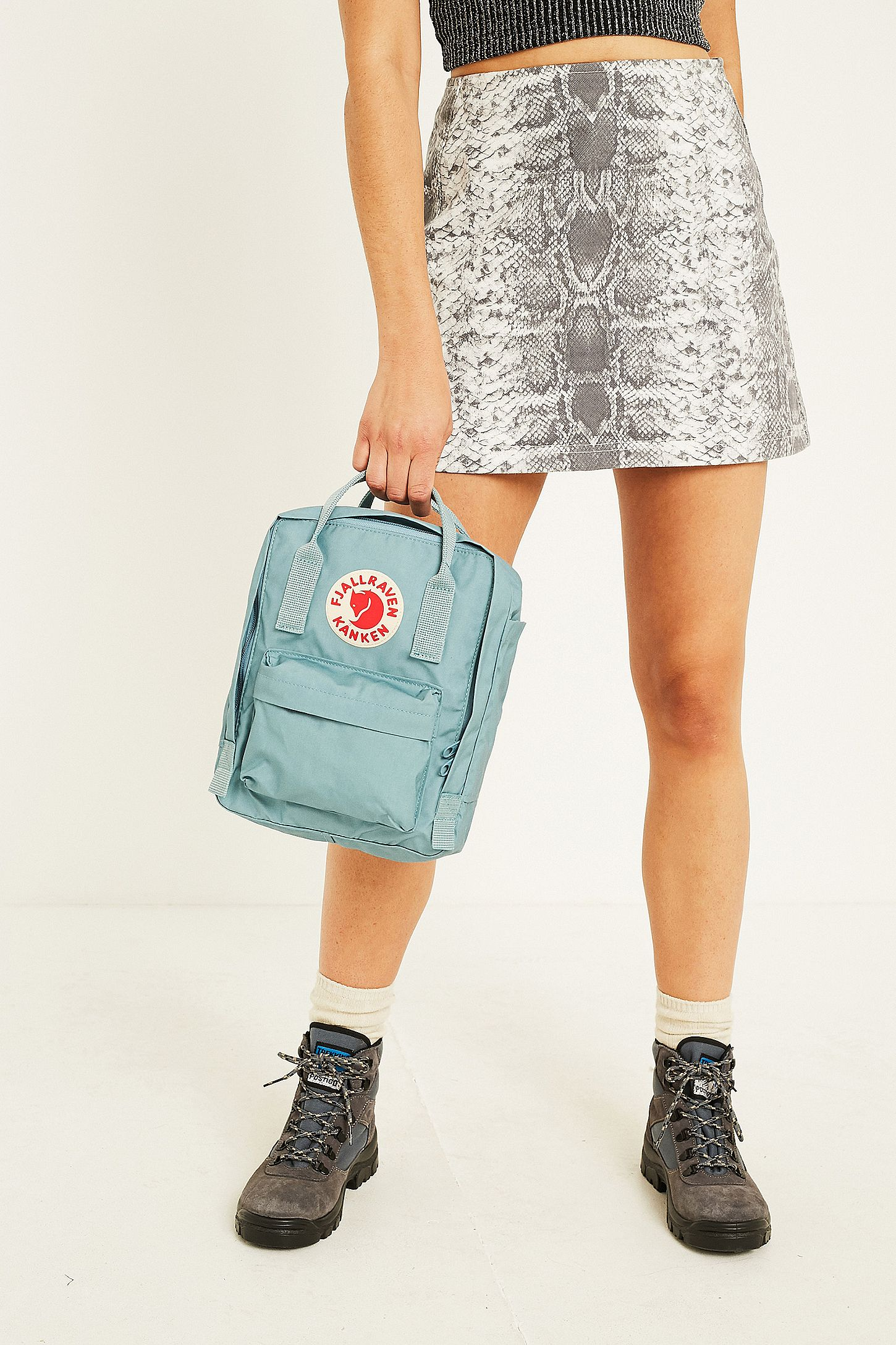 efdf34de53858 Fjallraven Kanken Sky Blue Mini Backpack. Click on image to zoom. Hover to  zoom. Double Tap to Zoom