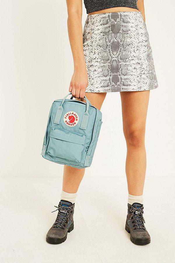 veel stijlen best verkocht goedkope prijs Fjallraven Kanken Sky Blue Mini Backpack