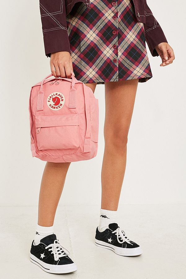 9832a85592a Fjallraven Kanken Pink Mini Backpack | Urban Outfitters UK