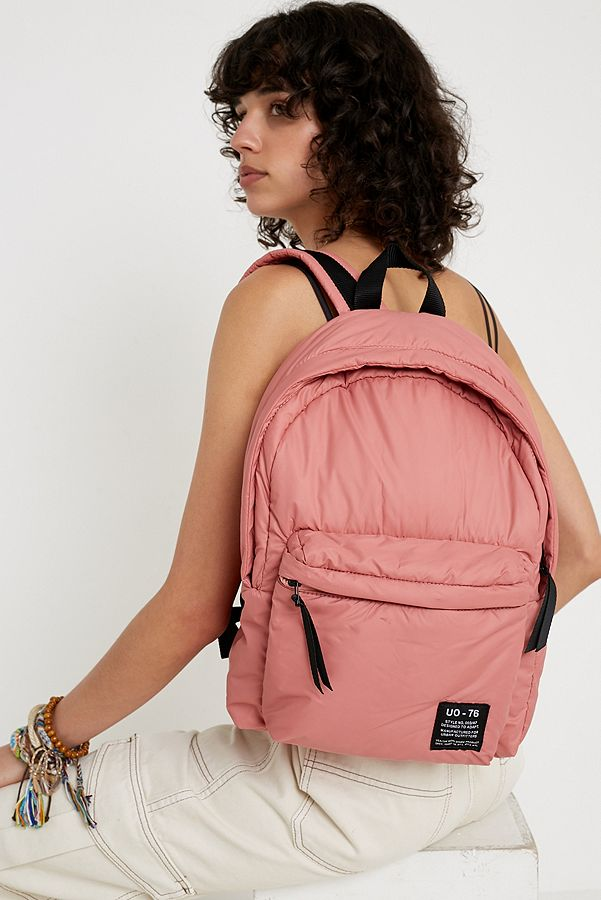 Uo Puffer Backpack by Urban Outfitters