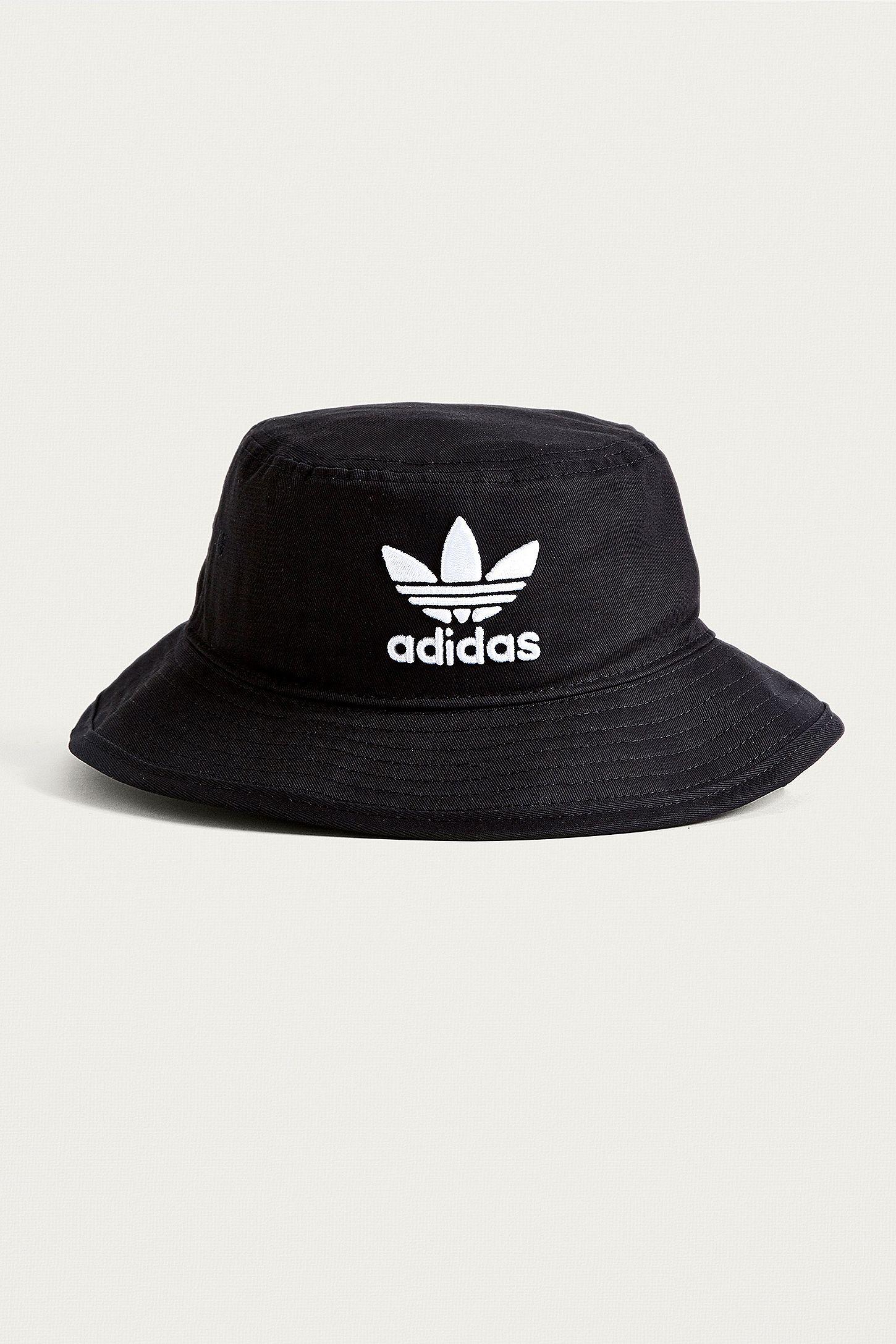 9b734c1376d adidas Originals Black Trefoil Bucket Hat