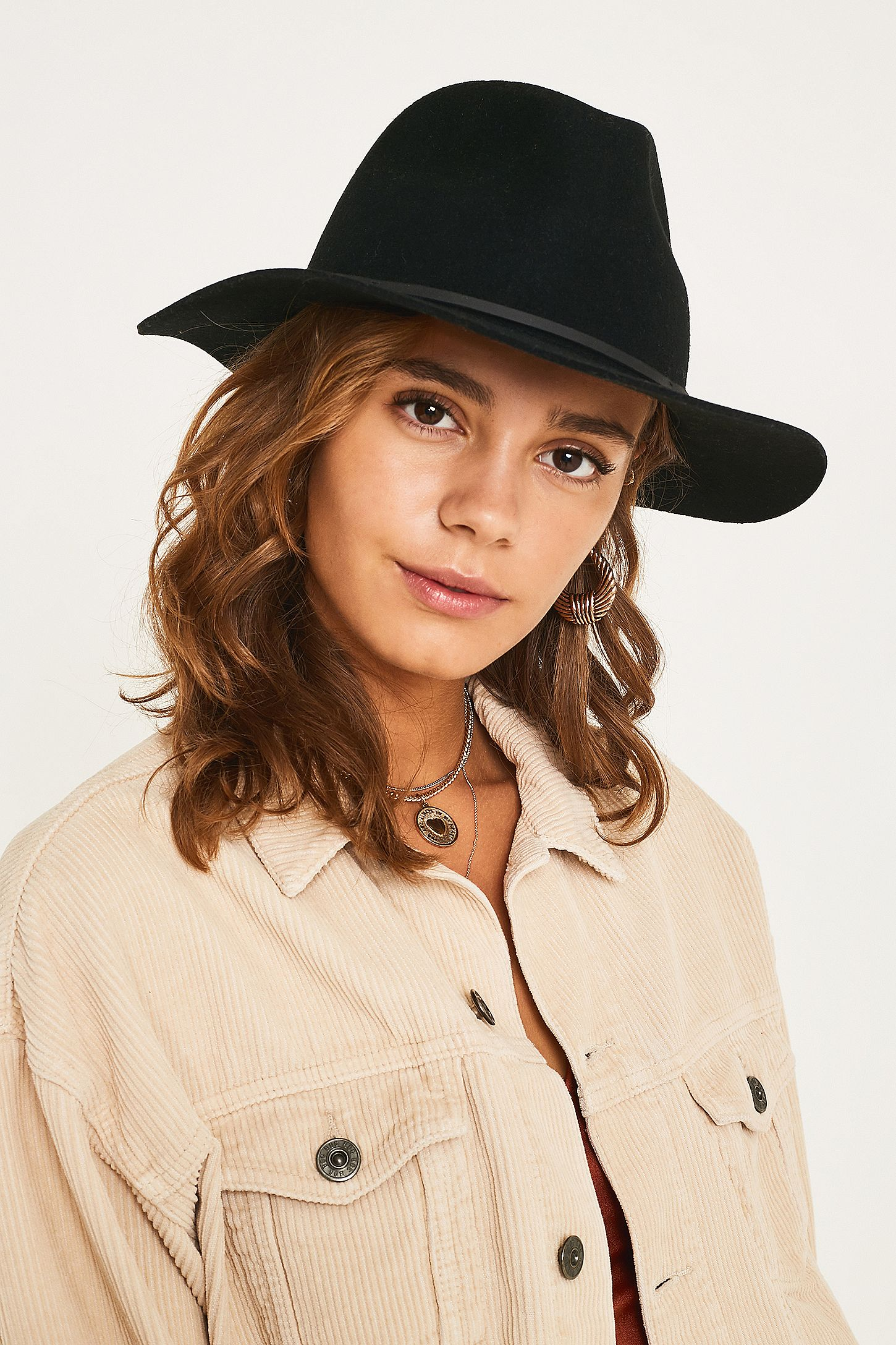a51b457b747 Brixton Wesley Fedora   Urban Outfitters UK
