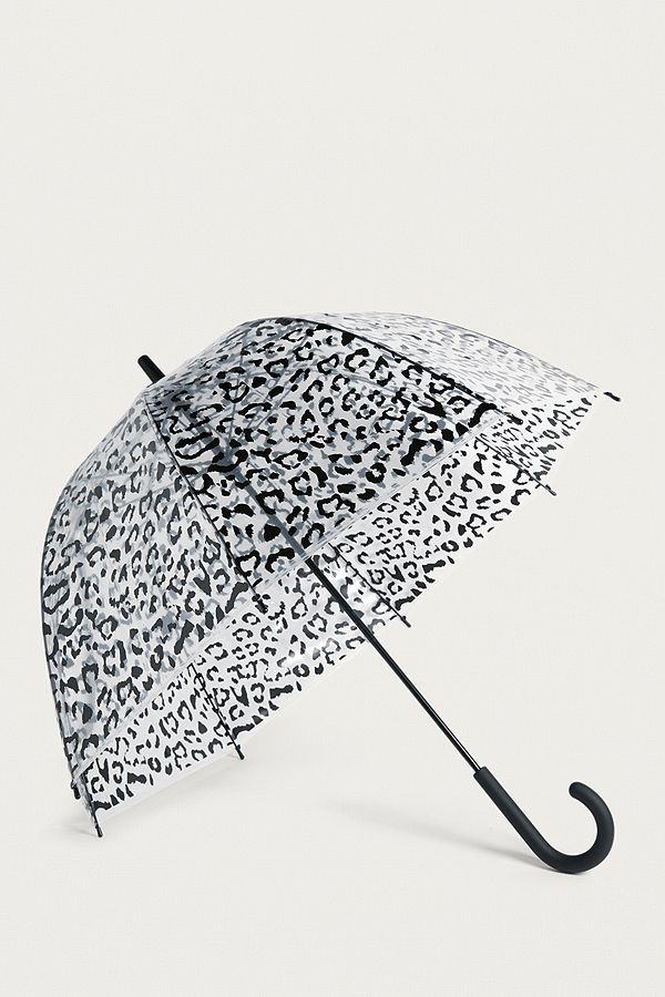 fae2b4f61dc95 Animal Print Bubble Umbrella | Urban Outfitters UK