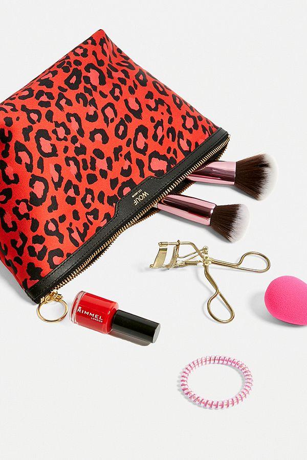 c62505a28146c7 Wouf Leopard Print Makeup Bag | Urban Outfitters UK