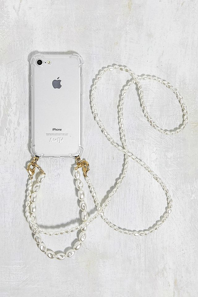 Ateljé Double Pearl Strap iPhone 6/7/8 Phone Case